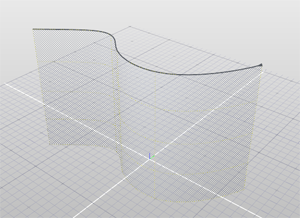 Modeling > Curve Tools > Extract Curve