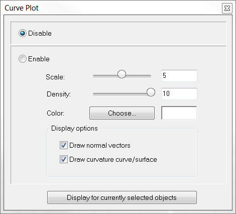 User Interface > Modeling Aids > Curve Plot